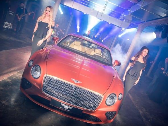 Premiera Bentley'a z Exclusive Event