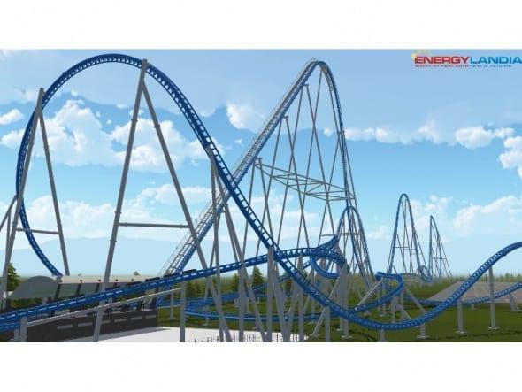 Jak powstaje największy mega coaster w Europie?