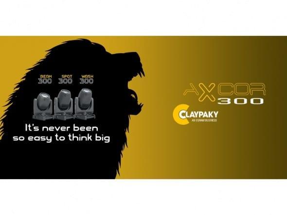 Premiera Claypaky Axcor 300