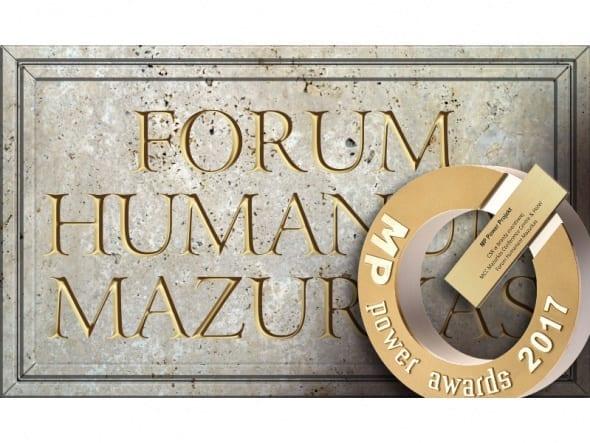 FORUM HUMANUM MAZURKAS wyróżniony przez branżę