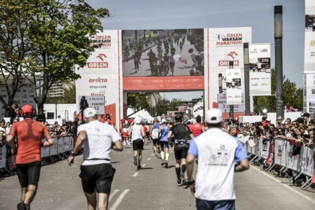 VI edycja Orlen Warsaw Marathon z agencjami MyPlace i Endorfina Events