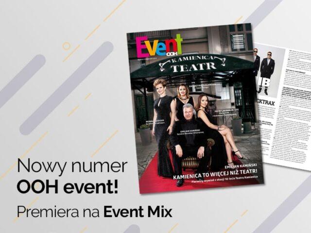 Premiera nowego numeru OOH event! w Strefie EVENT MIX