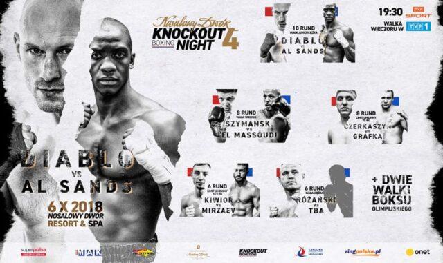 Nosalowy Dwór KnockOut Boxing Night 4