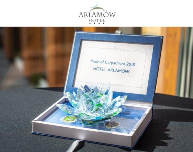 Kryształowy Lotos dla Hotelu Arłamów