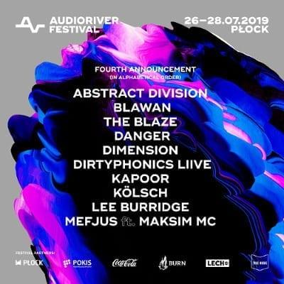 Line-up Audioriver 2019