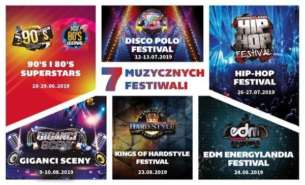Energylandia stolicą festiwali