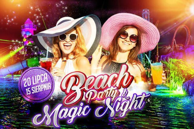 Beach Party na basenach Energylandii i Magic Night