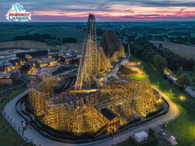 W Zatorze powstał najwyższy na świecie drewniany roller coaster