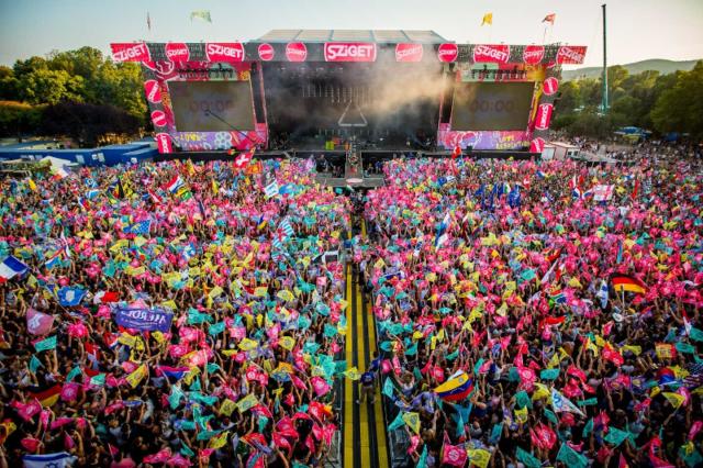 Finał IBIS Music na Festiwalu Sziget 2019 w Budapeszcie
