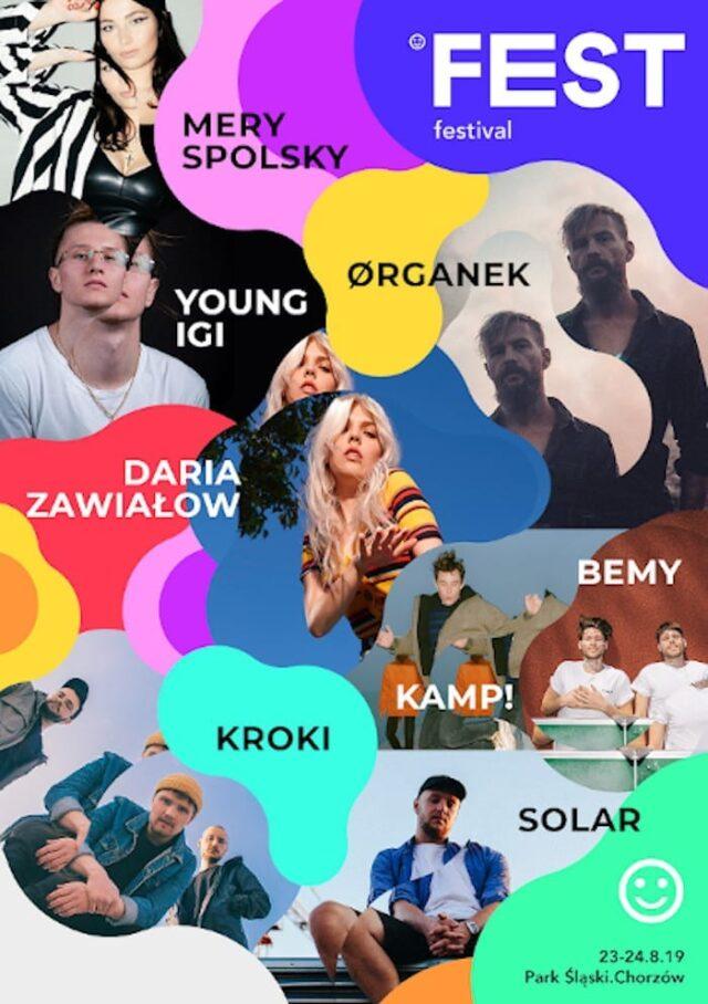 Artyści Kayax na Fest Festival w Chorzowie