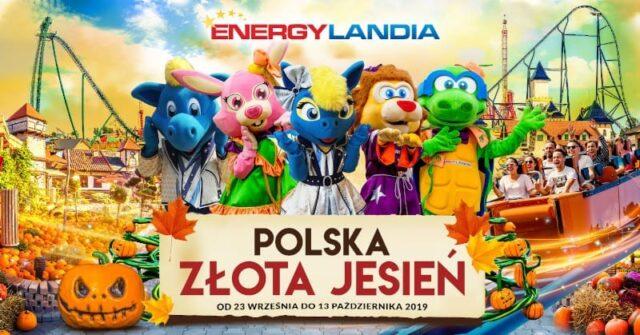Złota Polska Jesień w otoczeniu Roller Coasterów