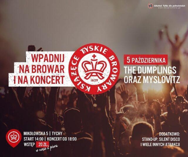 Wpadnij na browar i koncert do Tyskich Browarów Książecych